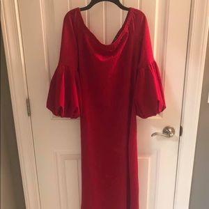 SHEIN Plus Size Midi Dress—Never Worn
